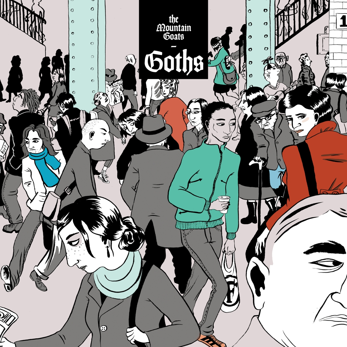 May 2017, Best Indie Pop Album of the Month: Goths by The MountainGoats