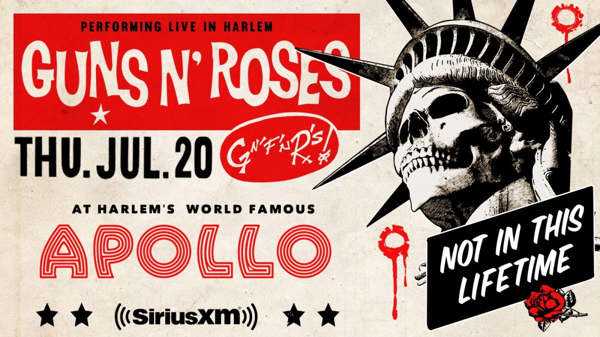 On Tour with…. Guns N'Roses