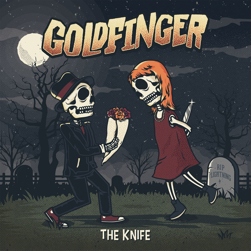 GOLDFINGER - The Knife - 800x800