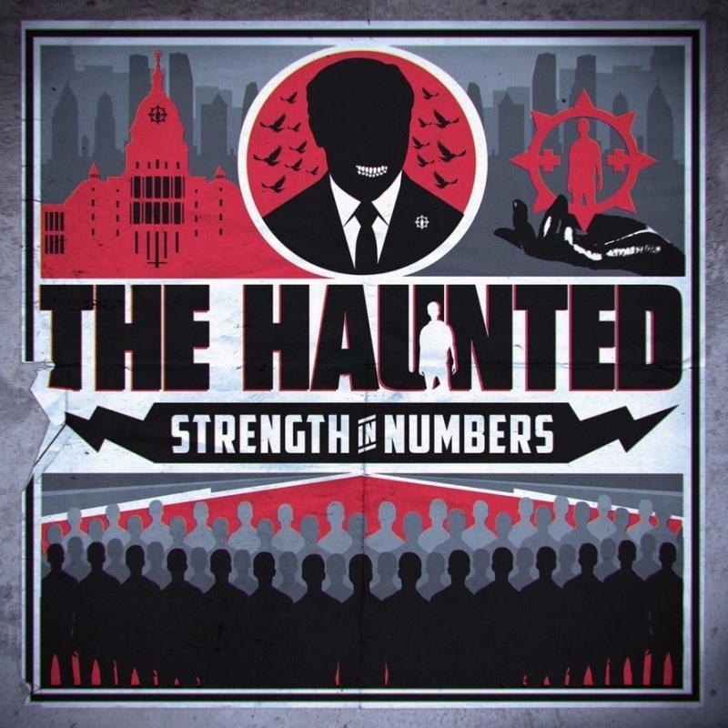 THE HAUNTED - Strenght in Numbers - 800x800