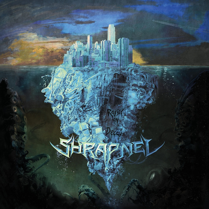 SHRAPNEL - Raised in Decay - 800x800