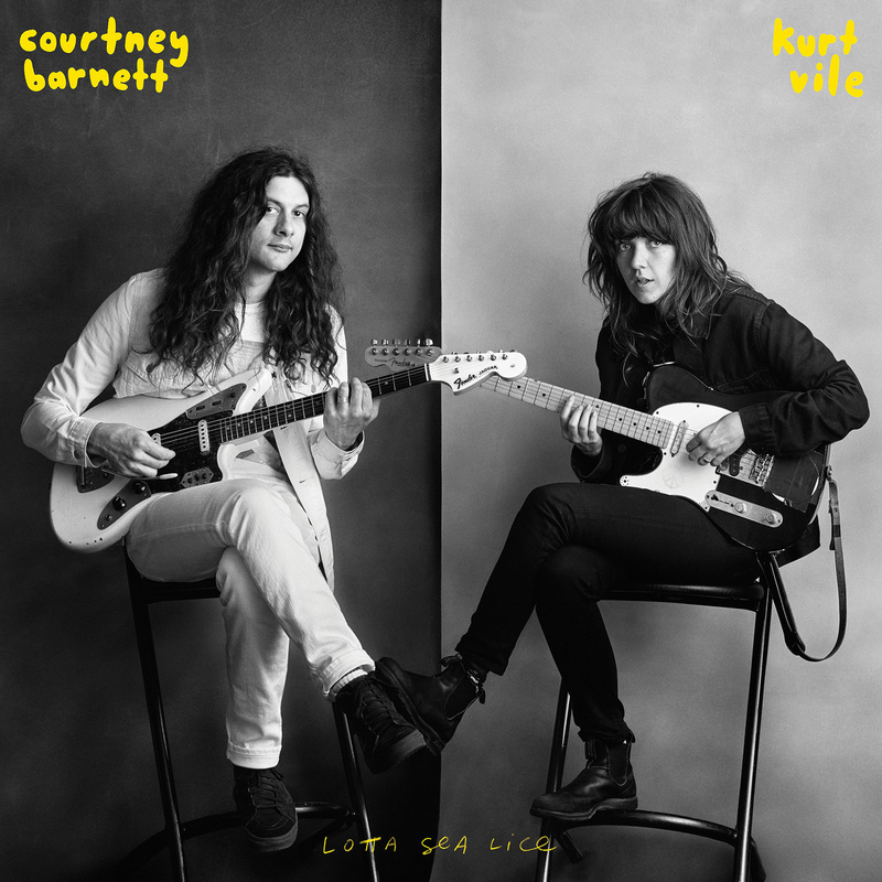 COURTNEY BARNETT and KURT VILE - Lotta Sea Lice - 800x800