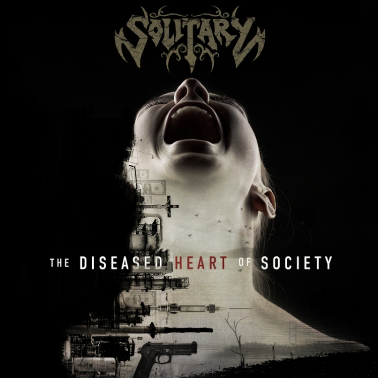 SOLITARY - The Diseased Heart of Society - 800x800