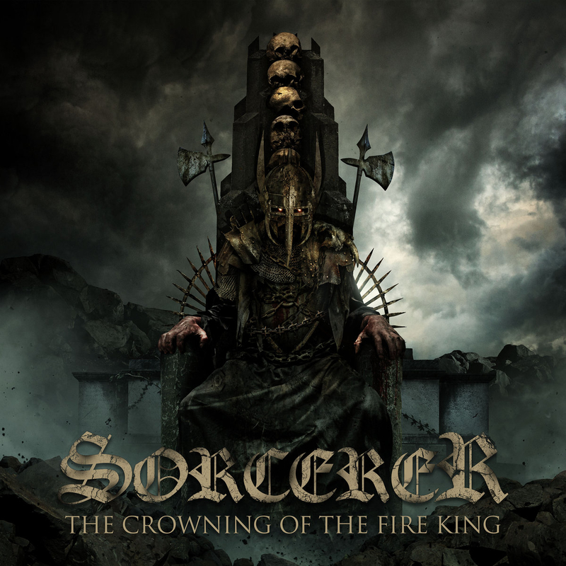 SORCERER - The Crowning of the Fire King - 800x800