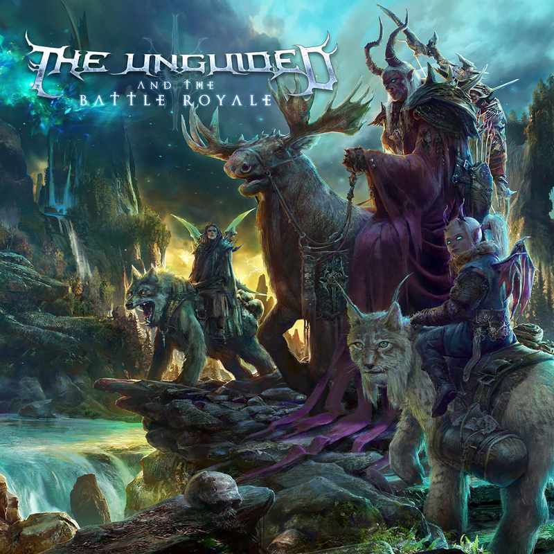 THE UNGUIDED - And The Battle Royale - 800x800.jpg