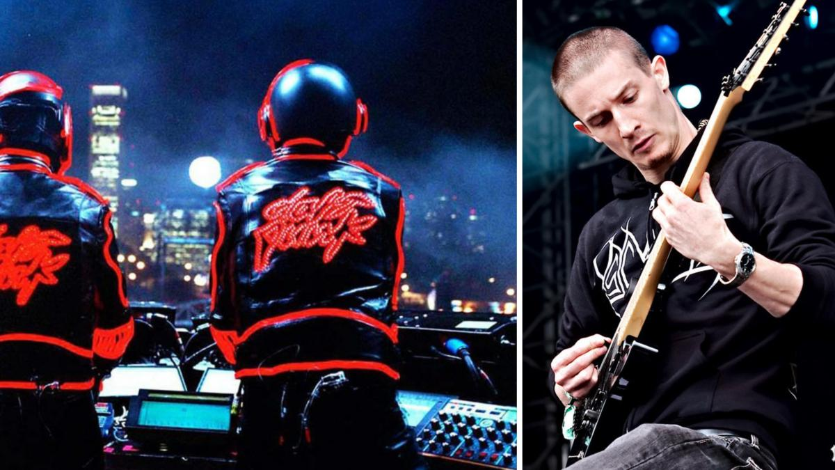 """Funny Coincidences: may the legendary and worldwide acclaimed electronic duo """"Daft Punk"""" be inspired by an Australian Death MetalBand?"""